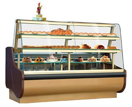 Universal Coolers BEATA52SC - Pastry Display Case - Refrigerated/Dry Combo - 52""