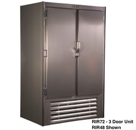 Universal Coolers RIR72 - Swinging Solid Door Reach In Refrigerator - 78""