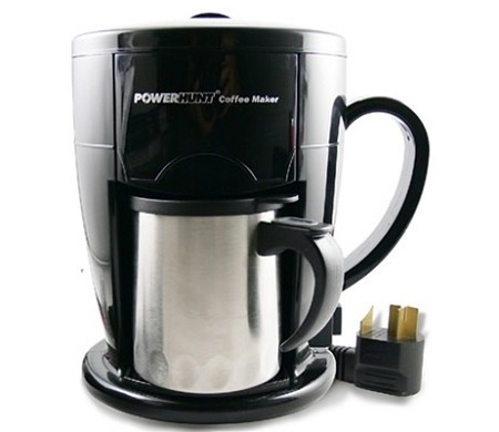 Power Hunt Personal Coffee Maker - 12 Volt