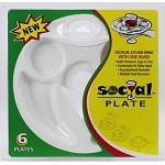 Superior Devices The Social Plate - Set of Six